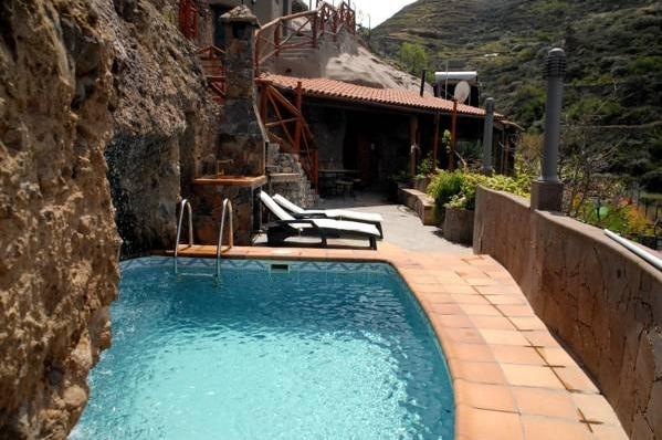 Hotel casa cueva los cabucos gran canaria hoteles con for Casa rural con piscina privada