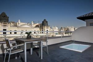 Hotel catalonia gran via madrid hoteles con piscina privada for Hoteles en leon con piscina
