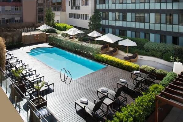 Hotel catalonia ramblas barcelona hoteles con piscina privada - Hoteles con piscina en barcelona ...