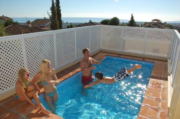 Hotel colina del paraiso malaga hoteles con piscina privada for Casas rurales en badajoz con piscina