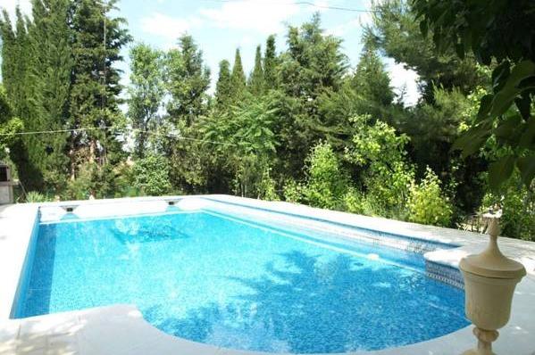 Cortijo villa paraiso granada hoteles con piscina privada for Piscina paraiso granada
