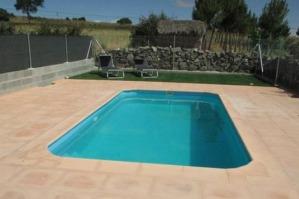 Hoteles con piscina privada en castilla le n for Hoteles en badajoz con piscina