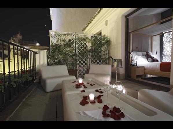 Eme catedral hotel sevilla hoteles con piscina privada - Spa hotel eme ...