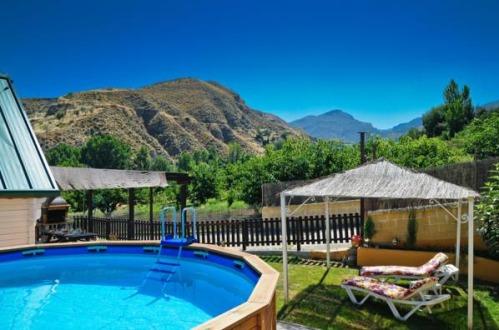 Las huertas casas rurales granada hoteles con piscina privada for Piscina paraiso granada