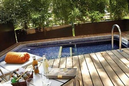 Hoteles con piscina privada en catalu a - Suite con piscina privada madrid ...