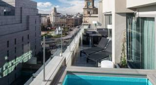 Catalonia square hoteles con piscina privada en la habitaci n en barcelona - Hotel con piscina privada segovia ...