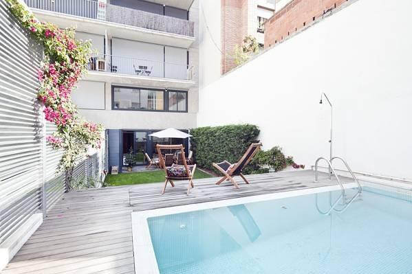 Hotel summer garden barcelona hoteles con piscina privada - Hoteles con piscina en barcelona ...